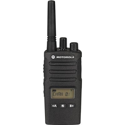 RMU2080D On-Site 8 Channel UHF Two-Way Business Radio w/Display and NOAA - Black