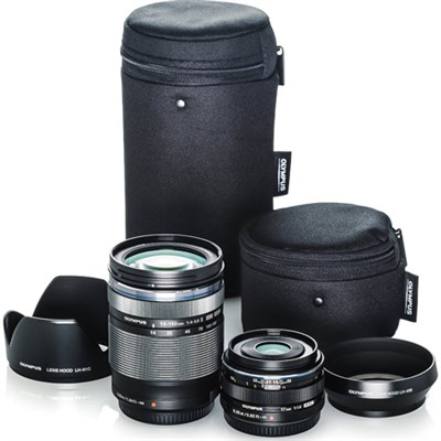 Digital ED 14-150mm f4.0-5.6 II and 17mm f1.8 Dual Travel Lens Kit