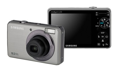 SL202 10MP/ 3X OPT/ 2.7` LCD Digital Camera (Silver)