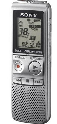 ICD-BX700 Digital Voice Recorder with Stereo Microphone Jack - Open Box