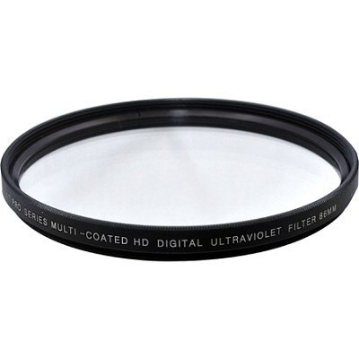 86mm Multicoated UV Protective Filter (you must have this basic clear filter!)