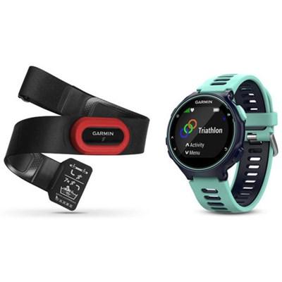 Forerunner 735XT GPS Running Watch Run-Bundle - Midnight Blue (010-01614-13)