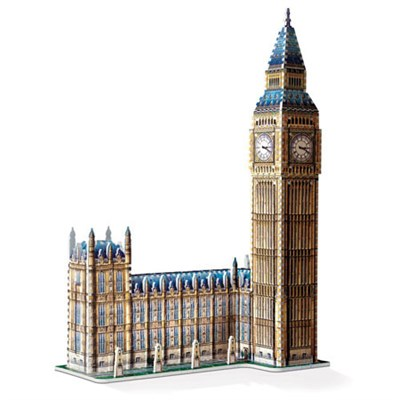 3D Big Ben 3D Jigsaw Puzzle, 890-Piece