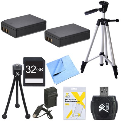 Ultimate LP-E10 Battery Pack Bundle for Canon EOS T5 and T3 Digital Cameras