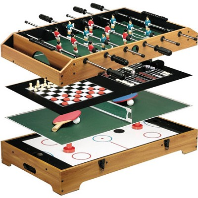 Ultimate 6-in-1 Table Game Center