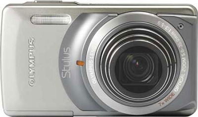 Stylus 7010 12MP Digital Camera - 7x Dual Image Stabilized Zoom 2.7 LCD (Silver)