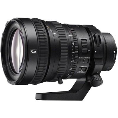 28-135mm FE PZ F4 G OSS Full-frame E-mount Power Zoom Lens (SELP28135G)