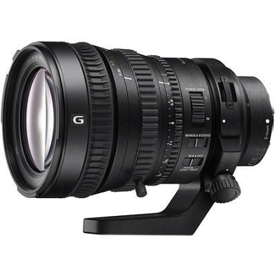 28-135mm FE PZ F4 G OSS Full-frame E-mount Power Zoom Lens (SELP28135G)