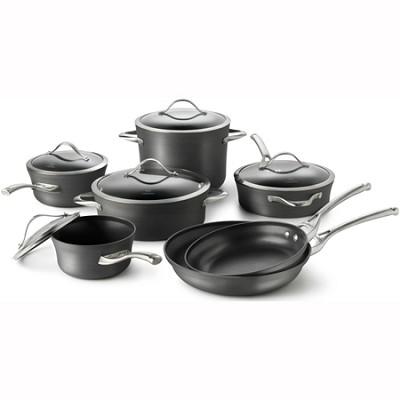 Contemporary Nonstick 12-pc. Cookware Set - 1775824