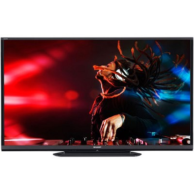 LC-80LE650U Aquos 80-Inch 1080p Built in Wifi 120Hz 1080p LED TV
