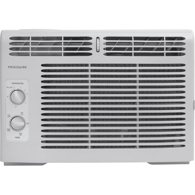 5,000 BTU 115V Window-Mounted Mini-Compact Air Conditioner w/ Mechanical Control