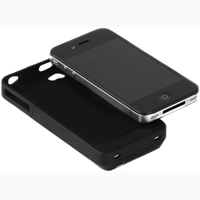 iPower Charging Case for iPhone 4 - Black (IP4001B)