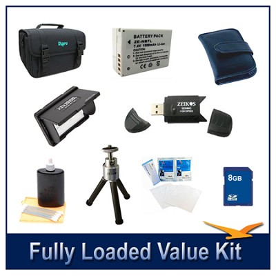 Fully Loaded Value Kit for the Canon Powershot SX30 and G12
