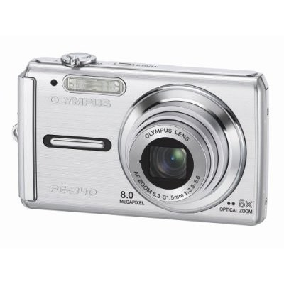 FE-340 8MP Digital Camera (Silver)