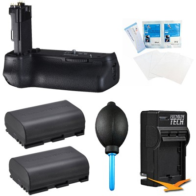 BG-E13 Battery Grip for Canon EOS 6D  Digital SLR Camera Kit
