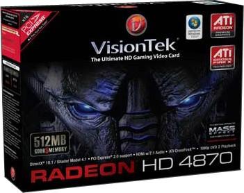Radeon HD4870 512MB GDDR5 PCIe 900244