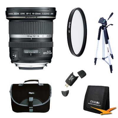 EF-S 10-22mm F/3.5-4.5 USM Lens Exclusive Pro Kit