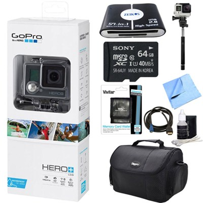 HERO+ LCD Action Camera Touch Display Integrated Housing Ready For Adventure Kit