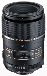 90mm F/2.8 DI SP AF Macro 1:1 Lens For Nikon, With 6-Year USA Warranty