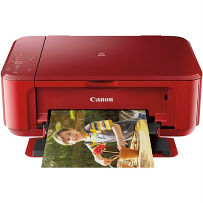 Pixma MG3620 Wireless Inkjet All-In-One Red Multifunction Printer