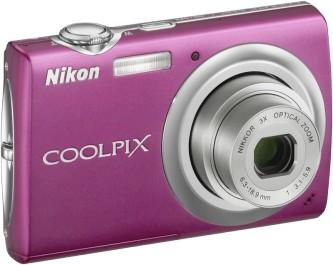COOLPIX S220 Digital Camera (Magenta)