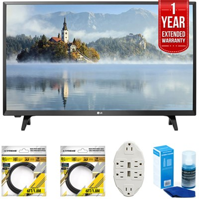 LJ500B Series 32` Class LED HDTV 2017 Model 32LJ500B w/ Extended Warranty Kit