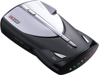 XRS 9345 14 Band High Performance Digital Radar / Laser Detector