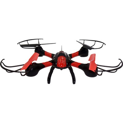 Galaxy Seeker WiFi Small Quadcopter (Red/Black) - ODY-1810-WiFi