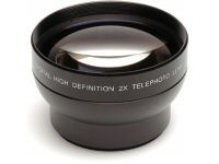 Pro 2X Telephoto Lens Converter - 52mm threading (Black)