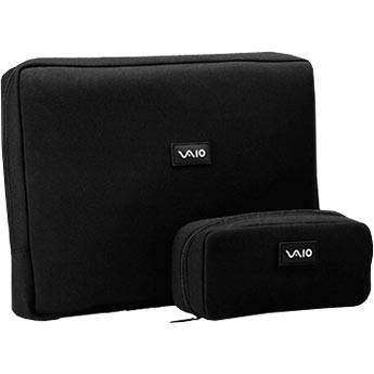 VAIO VGP-AMC2 Neoprene 17` Notebook and AC Adapter Cases