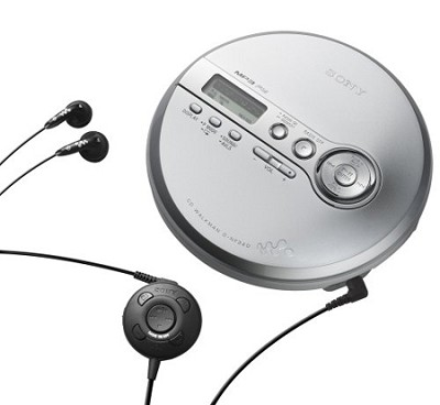 D-NF340 MP3 CD Walkman Compact Disc Player