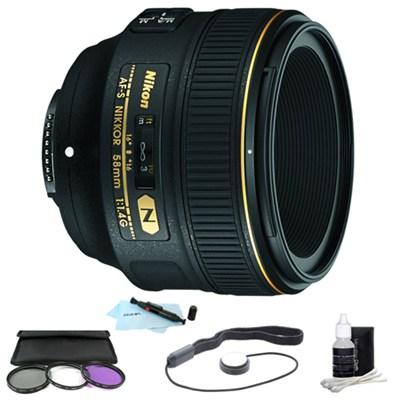 AF-S NIKKOR 58mm f/1.4G Lens Kit