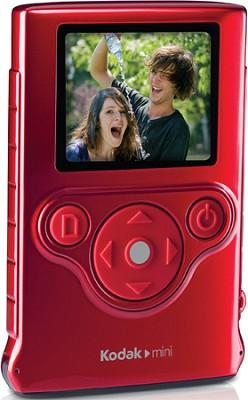 ZM1 Mini Pocket Waterproof Ultra-Thin Video Camera Camcorder (Red)