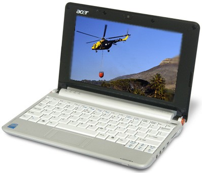 Aspire one  8.9-inch Netbook PC - (AOA110-1295)