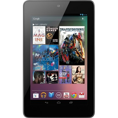 Google Nexus 7 Tablet (8GB) - Quad-core Tegra 3 Processor - FACTORY REFURBISHED
