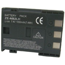 NB-2LH 1000mAh Replacement /Extra Battery for Canon