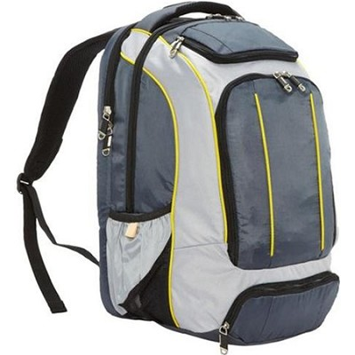Compact Backpack Grey/Citrus Yellow (56009-1414)