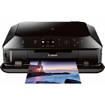 PIXMA MG6420 Wireless Color Photo Printer with Scanner and Copier - Black