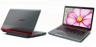 Qosmio X775-Q7270 17.3 Inch Red Horizon Notebook Intel Core i5-2410M