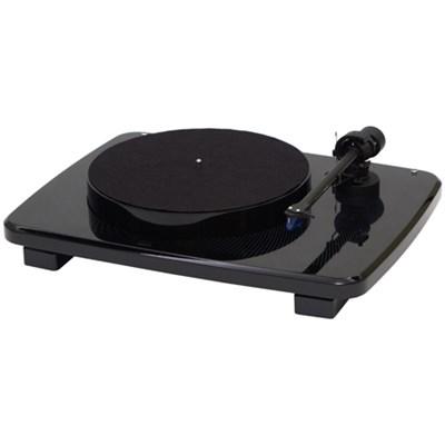 Ikura Split-Plinth Design Belt Driven Turntable - Black