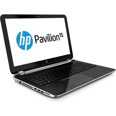 Pavilion 15.6` HD LED 15-n010us Notebook PC - AMD Quad-Core A6-5200 Acc. Proc.