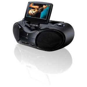 Portable DVD/CD/AM/FM Stereo with 7'' LCD Display