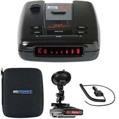 Passport S55 High Performance Radar /Laser Detector -Windshield Mount Kit