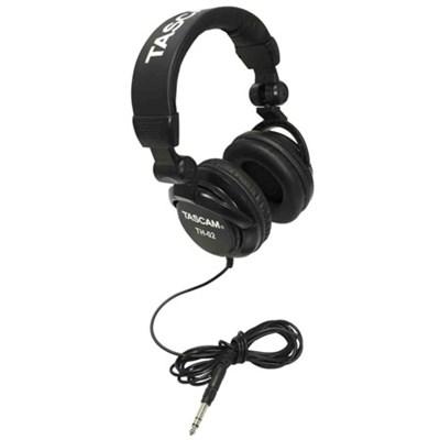 TH-02-B Closed-Back Professional Headphones (Black) - OPEN BOX