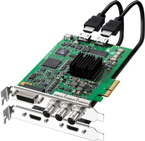 DeckLink HD Extreme 2 capture card switchable video and analog XLR