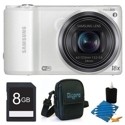 WB250F 14.2 MP SMART Camera White 8GB Kit