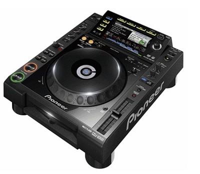 CDJ-2000 Professional Multi-Media & CD Player with Rekordbox Software - Open Box