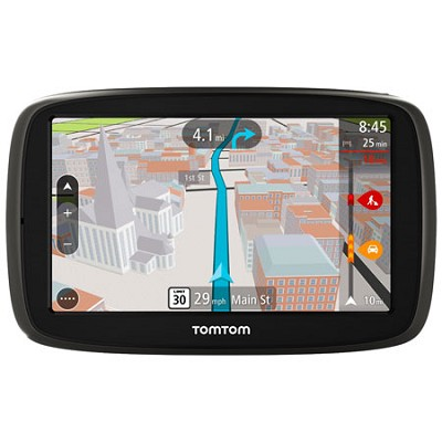 GO 50 S Portable 5` Inch Touch Screen Vehicle GPS with 3D Maps