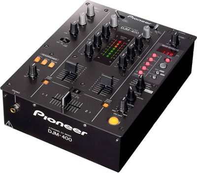 DJM-400 Pro DJ Mixer   **Open Box**