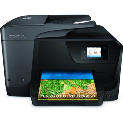 Officejet Pro 8710 Photo Wireless Inkjet Multifunction Printer